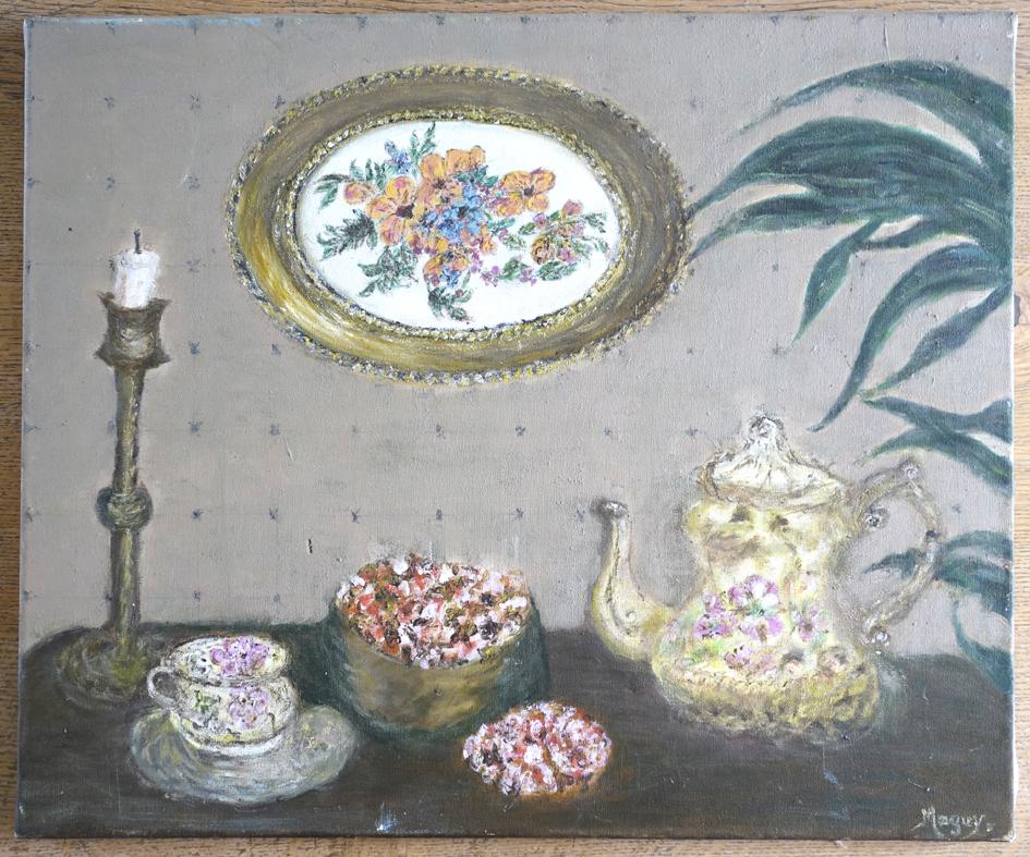 2004 sur toile format 50x60